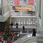 The Gallery mall covered three blocks on Market Street in Philadelphia. (Emma Lee/WHYY)