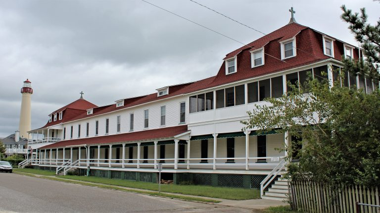 The St. Mary By-The-Sea Retreat House in Cape May Point. (Bill Barlow/for WHYY)