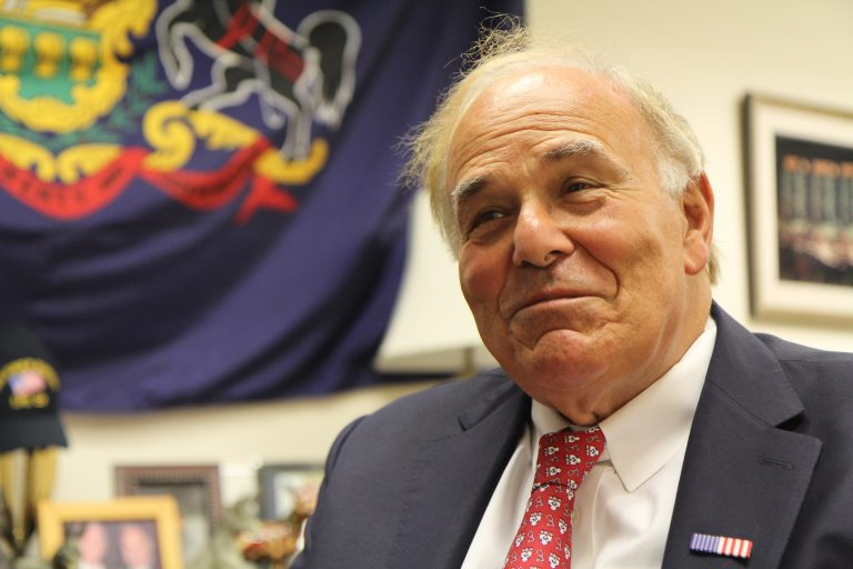 Former Pennsylvania Gov. Ed Rendell says he is incorporating a nonprofit called Safehouse that will solicit private funding to support a space where those struggling with opioid addiction can use illegal drugs under the watch of medical professionals. (Kimberly Paynter/WHYY)