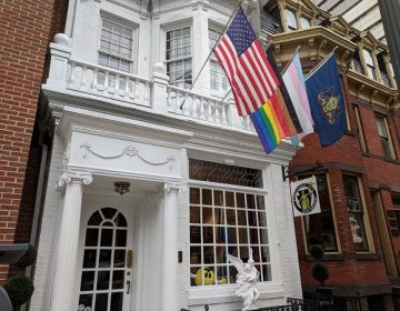 The Pennsylvania Youth Congress offices on Walnut St. in Harrisburg. (Rachel McDevitt/WITF)