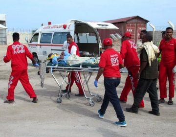 Mogadishu's free ambulance service was founded in 2006 by Dr. Abdulkadir Abdirahman Adan after he saw people bringing relatives to the hospital by wheelbarrow. (Abdulkadir Abdirahman Adan)