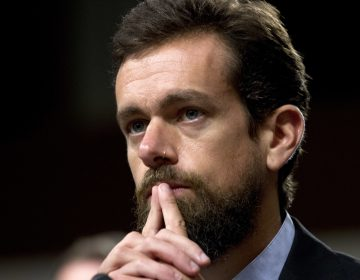 Twitter CEO Jack Dorsey testifies before the Senate Intelligence Committee hearing on 'Foreign Influence Operations and Their Use of Social Media Platforms' on Capitol Hill, Wednesday, Sept. 5, 2018, in Washington. (Jose Luis Magana/AP)