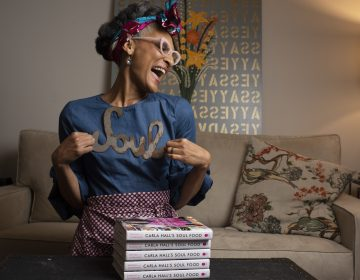 Carla Hall has a new book that explores her heritage and attempts to bring soul food to a wider audience. She embarked on a long journey through the South to investigate and get inspiration, and the story is a deep look into her philosophy. (Marvin Joseph/The Washington Post via Getty Images)
