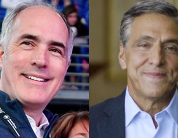 U.S. Senator Bob Casey, Jr. (left) and Congressman Lou Barletta both hail from Northeastern Pennsylvania's coal region. Their philosophies, though, are worlds apart. (Abby Drey/Centre Daily Times via AP and loubarletta.com)