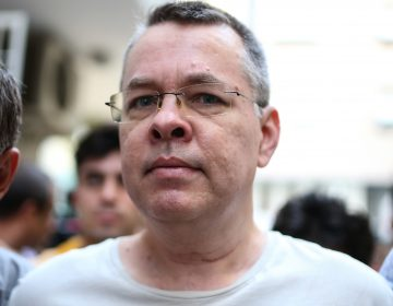 U.S. pastor Andrew Brunson, shown here in July, is being released from house arrest. (AFP/Getty Images)