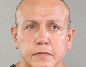 An undated police mugshot of Cesar Sayoc, who was charged Friday with sending explosive devices to critics of President Trump. (Broward County Sheriff's Office via Getty Images)