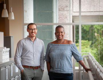 Annette John-Hall and Shai Ben-Yaacov