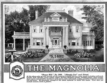 The Magnolia home was one of the largest offered through the Sears catalog. Sears sold more than 70,000 mail-order homes between 1908 and 1940. Some enthusiasts estimate that about 70 percent of Sears houses are still standing today. (Sears Holdings Corp.)