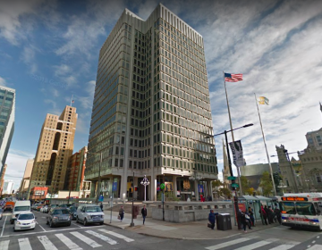 The Municipal Services Building in Philadelphia (Google Maps)