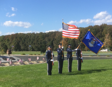 The Delaware Veterans Memorial Cemetery in Bear received a national honor for its service. (Zoe Read/WHYY)