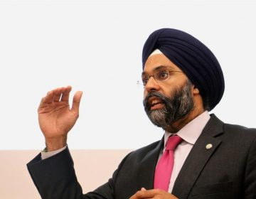 New Jersey Attorney General Gurbir Grewal. (Emma Lee/WHYY)