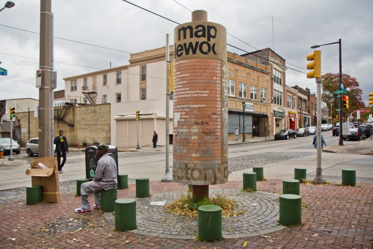 Philadelphia is planning to redevelop the Maplewood Mall in Germantown. (Kimberly Paynter/WHYY)