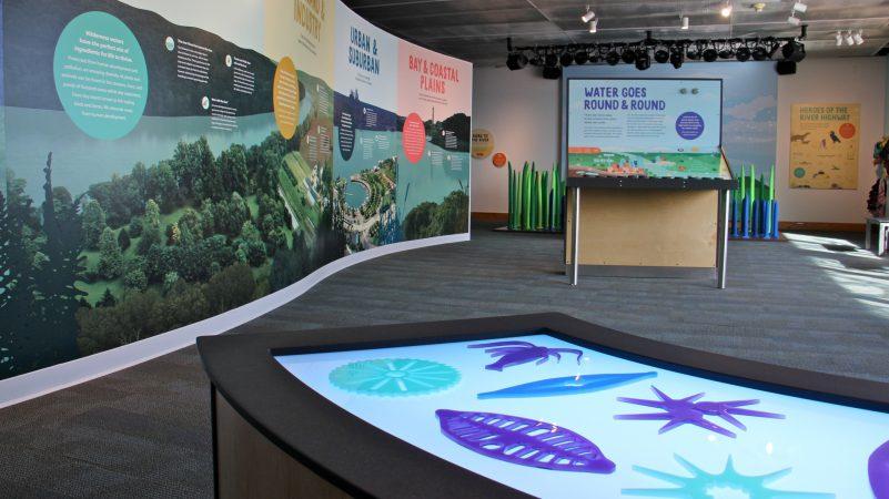The Seaport Museum's spacious, sunlit, new exhibit,