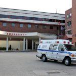 Roxborough Memorial Hospital emergency entrance.