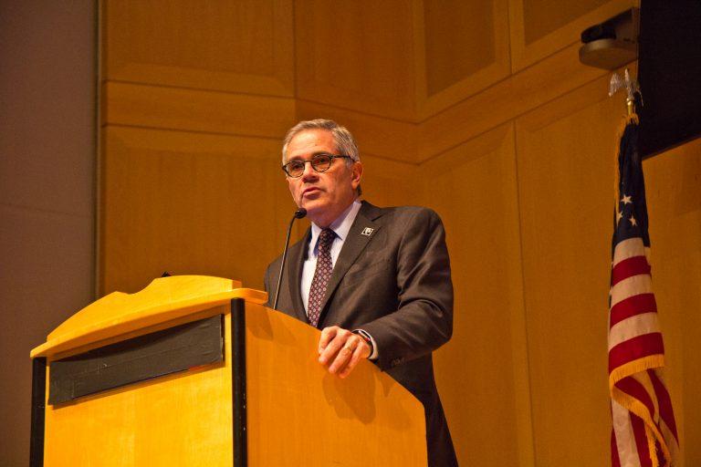 Larry Krasner is District Attorney of Philadelphia. (Kimberly Paynter/WHYY)