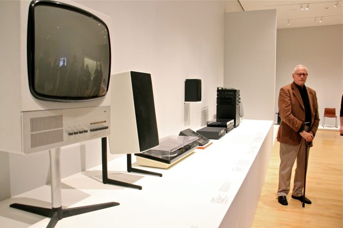 As Braun's chief design officer, Dieter Rams oversaw product design for an enormous range of goods. (Emma Lee/WHYY)