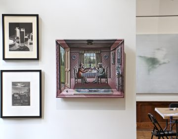 "The Arthur Ross Gallery at the University of Pennsylvania is looking at its collection with fresh eyes. The gallery's ""Citizen Salon,"" is a crowdsourced exhibit, curated and commented upon by members of the public."