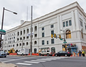 Philadelphia's restored Metropolitan Opera House will open as a Live Nation Venue on Monday. (Kimberly Paynter/WHYY)