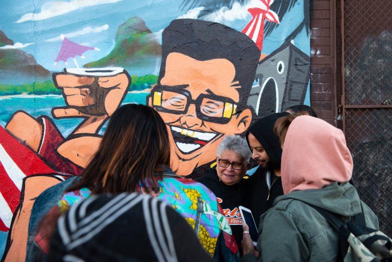 Luz Fontanez, mother to graffiti legend Eliu