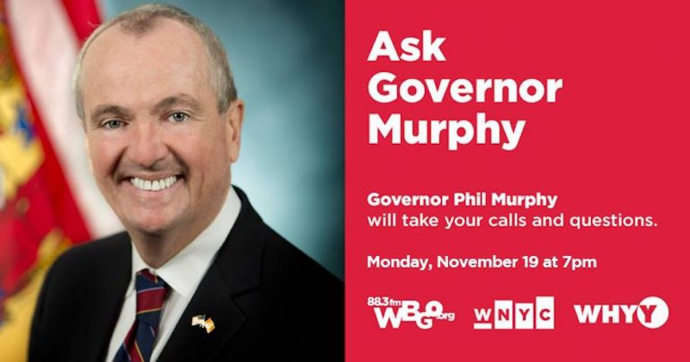 Ask Gov. Murphy