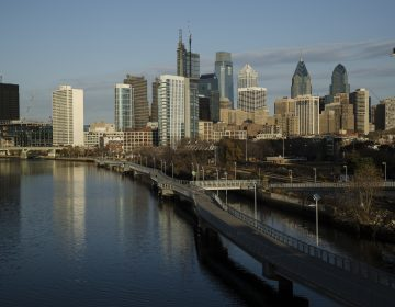 Shown is the Schuylkill River and view of the Philadelphia skyline, Thursday, Nov. 30, 2017. (Matt Rourke/AP Photo)