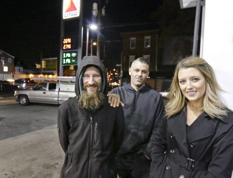 On Tuesday, Dec. 25, 2018, GoFundMe says it has made refunds to everyone who contributed to a campaign involving homeless veteran Bobbitt who prosecutors allege schemed with a New Jersey couple, McClure and D'Amico, to scam donors out of $400,000. (Elizabeth Robertson/The Philadelphia Inquirer via AP)