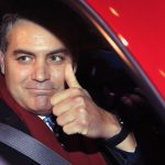 CNN's Jim Acosta gestures as he leaves federal court in Washington, Wednesday, Nov. 14, 2018, following a hearing on a legal challenge against President Donald Trump's administration over the revocation of his White House