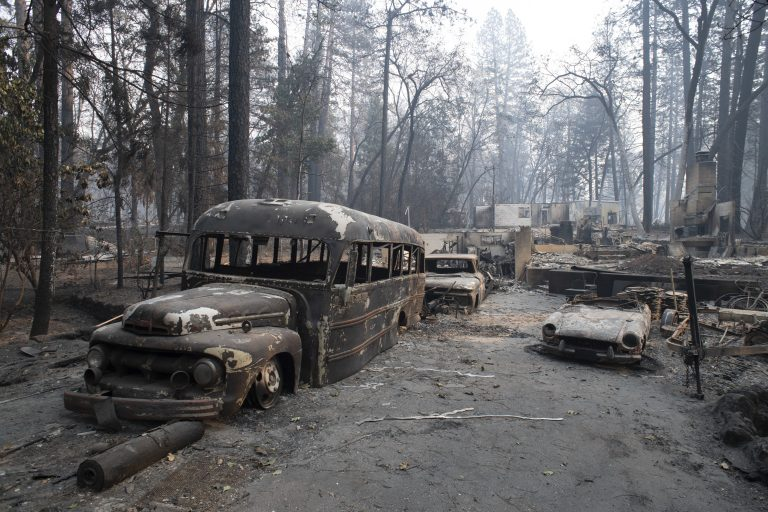Trump to visit California fire scene as death toll rises - WHYY
