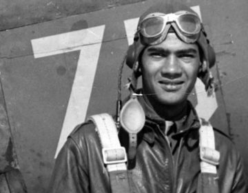 This undated photo provided by the Pentagon's Defense POW/MIA Accounting Agency shows Lawrence Dickson, a New York pilot killed during World War II. Dickson is first of the 27 Tuskegee Airmen still listed as missing in action whose remains the Pentagon says they have identified through DNA samples provided by his daughter in New Jersey. Dickson was a 24-year-old captain in the 100th Fighter Squadron when his P-51 fighter plane was seen crashing along the Italy-Austria border during a mission on Dec. 23, 1944. Searches for the crash site were unsuccessful until 2012. (Defense POW/MIA Accounting Agency via AP)