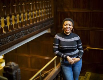 Rhodes scholar, Anea B. Moore (Eric Sucar/University Communications, University of Pennsylvania)