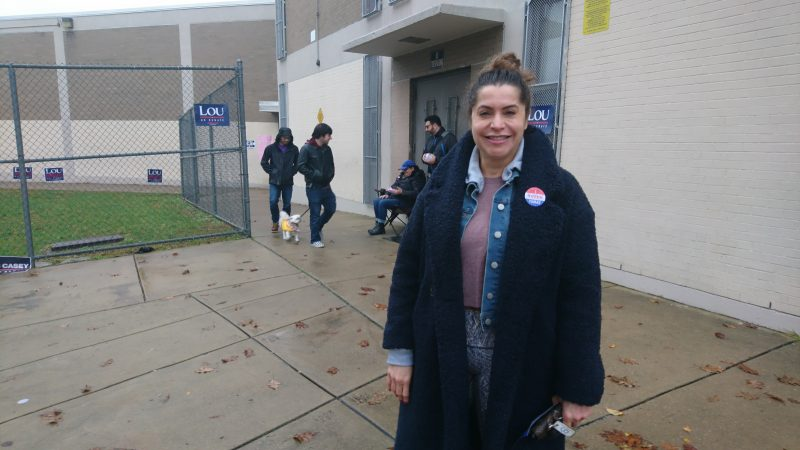 Lilliam Fernandes, a scientist who emigrated from Brazil as a student, loves the United States for the opportunities to succeed. She says vetting at borders needs to be robust. She voted for all Democrats Tuesday. Of the  GOP stance on immigration, she said: