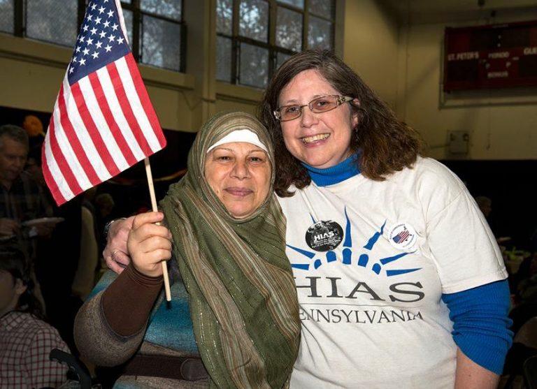 HIAS Pennsylvania's 2018 Refugee Thanksgiving (Photo via facebook.com/HIASPennsylvania)