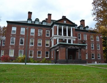 The former Harrisburg State Hospital closed in 2006 and now serves as government offices. (Brett Sholtis/WITF)