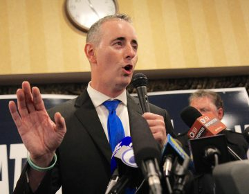 Republican congressman Brian Fitzpatrick of Pa.'s 1st District. (Kimberly Paynter/WHYY)