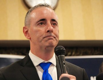 U.S. Rep. Brian Fitzpatrick has asked Pennsylvania Gov. Tom Wolf for a thorough review of the environmental impact of renewed mining at the Rockhill Quarry in Upper Bucks County. (Kimberly Paynter/WHYY)