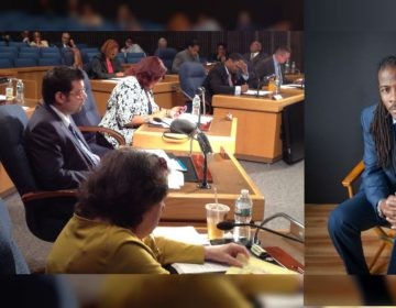 Wilmington City Council is accepting applications to replace Councilman Nnamdi Chukwuocha who resigned his seat after being elected to the General Assembly earlier this month. (WHYY/File; Chukwuocha photo courtesy Del Division of the Arts)