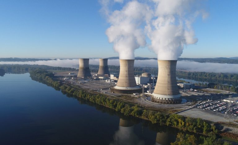 Exelon's Three Mile Island plant is scheduled to prematurely close in September 2019. The company has been lobbying for help from the state to keep it open. (Exelon/StateImpact Pennsylvania)