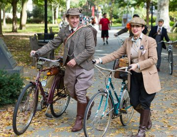 The 2017 Tweed Ride in Philadelphia Saturday, November 4, 2017. (©2017 Mark Stehle Photography)