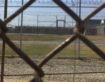 James T. Vaughn Correctional Center in Smyrna, Delaware. (Zoë Read/WHYY)