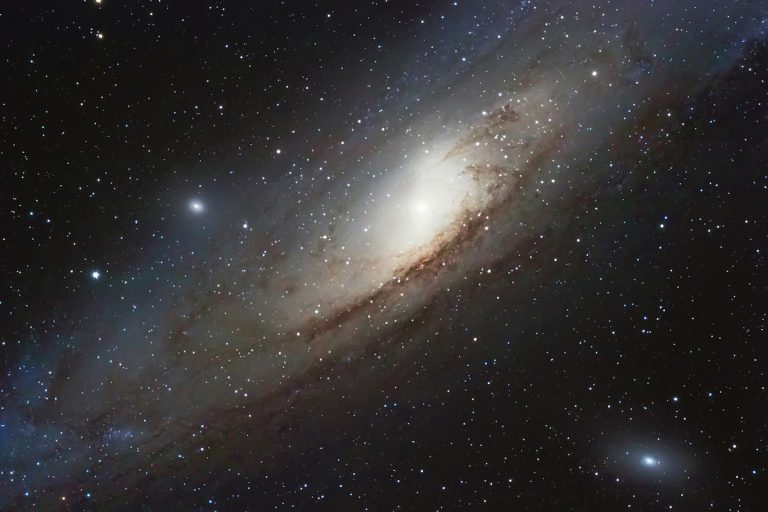 The Andromeda Galaxy, a spiral galaxy in the constellation of Andromeda Messier 31 M31.