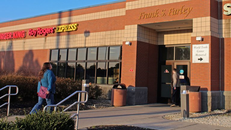 Frank S. Farley Service Plaza is located at milepost 21.3 on the Atlantic City Expressway. (Bill Barlow/for WHYY)