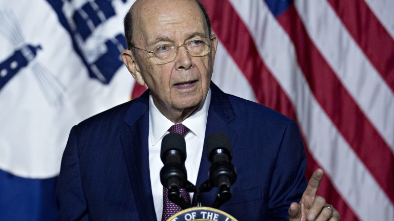 The U.S. Supreme Court is set to hear oral arguments on Feb. 19 about whether Commerce Secretary Wilbur Ross can be deposed for the lawsuits over the citizenship question he added to the 2020 census. (Andrew Harrer/Bloomberg via Getty Images)
