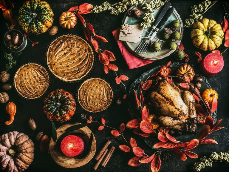 Thanksgiving day spread. (Vicuschka/Getty Images)