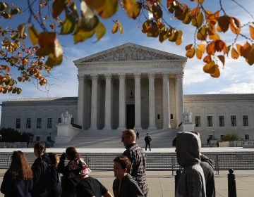 The U.S. Supreme Court, taken on November 8, 2018. (Mark Wilson/Getty Images)