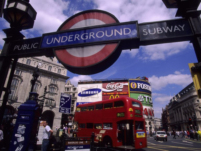 London Mayor Sadiq Khan announced a ban on junk food advertisements across the city's transportation network on Friday. The new rules will take effect on Feb. 25, 2019. (Wolfgang Kaehler/LightRocket via Getty Images)