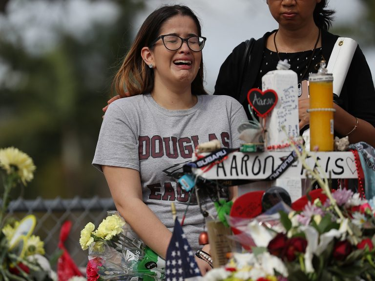 School shootings have led to a boon to the business of security technology. (Joe Raedle/Getty Images)
