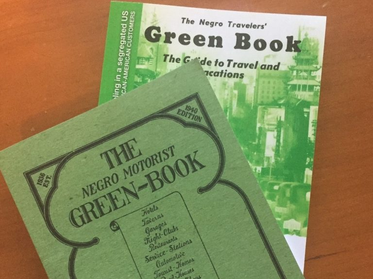 Contemporary reprints of original Green Books from 1940 (front) and 1954. (Karen Grigsby Bates)