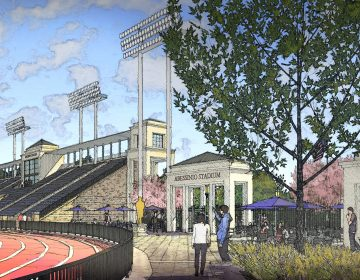 Salesianum School received $16 million to upgrade Baynard Stadium. (Courtesy of Salesianum School)