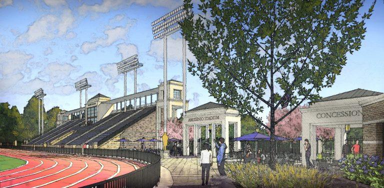 Salesianum School received $16 million to upgrade Baynard Stadium. (Courtesy of Salesianum School)