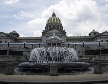 Shown is the Pennsylvania Capitol building in Harrisburg, Pa., Monday, July 10, 2017. (Matt Rourke/AP Photo)